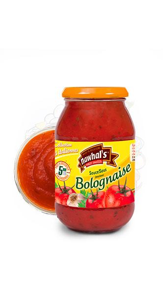 Sauce Bolognaise Nawhal's - nawhals.com