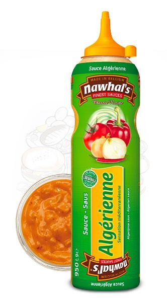 Sauce Nawhal's Algérienne 950ml - Nawhals.com
