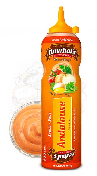 Sauce Nawhal's Andalouse 950ml - Nawhals.com