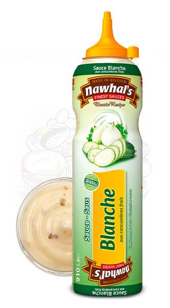 Sauce Nawhal's Blanche aux concombres frais 950ml - Nawhals.com
