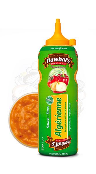 Sauce Nawhal's Algérienne 500ml - Nawhals.com