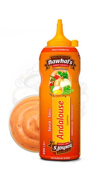 Sauce Nawhal's Andalouse 500ml - Nawhals.com