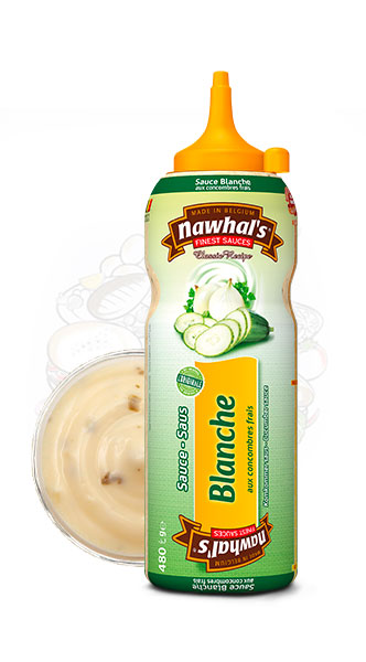 Sauce Nawhal's Blanche 500ml - Nawhals.com