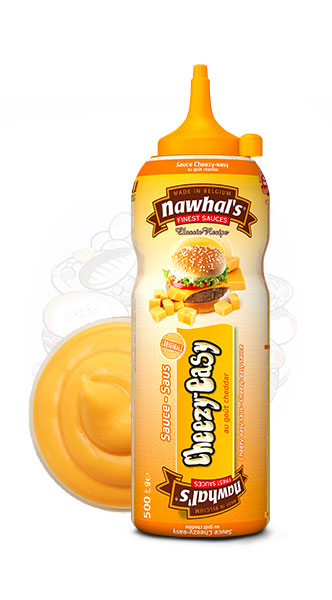Sauce Nawhal's CheezyEasy 500ml - Nawhals.com