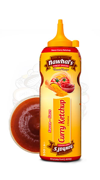 Sauce Nawhal's CurryKetchup 500ml - Nawhals.com