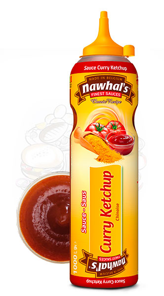 Sauce Nawhal's CurryKetchup 950ml - Nawhals.com