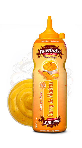 Sauce Nawhal's Curry de Madras 500ml - Nawhals.com