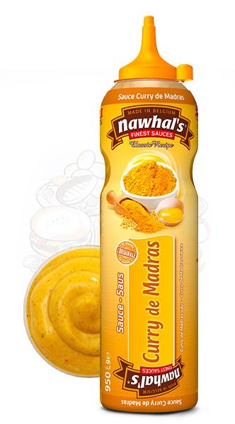 Sauce Nawhal's Curry de Madras 950ml - Nawhals.com