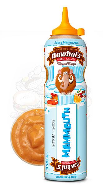 Sauce Nawhal's Mammouth 950ml - Nawhals.com