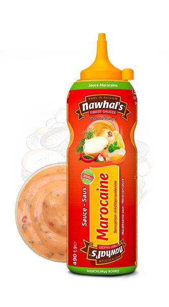 Sauce Nawhal's Marocaine 500ml - Nawhals.com
