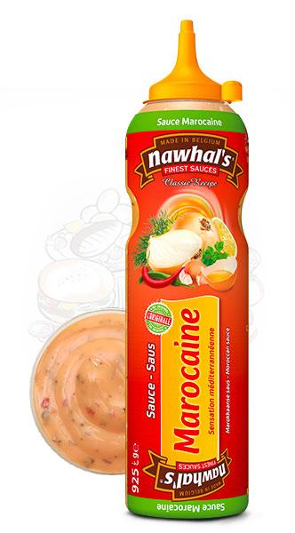 Sauce Nawhal's Marocaine 950ml - Nawhals.com