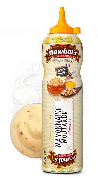 Sauce Nawhal's Mayonnaise moutarde à l'ancienne 950ml - Nawhals.com