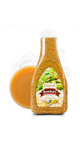 Sauce Nawhal's Vinaigrette Moutarde 450ml - Nawhals.com