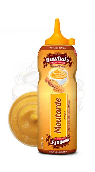Sauce Nawhal's Moutarde de Dijon 500ml - Nawhals.com