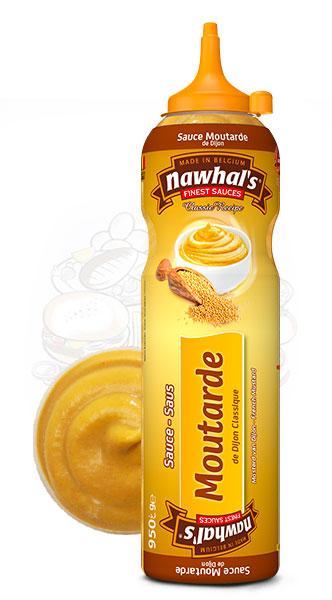 Sauce Nawhal's Moutarde de Dijon 950ml - Nawhals.com