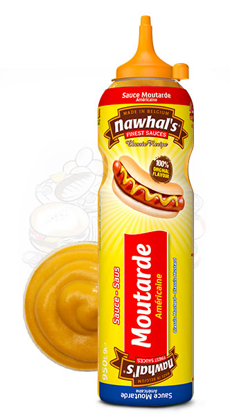 Sauce Nawhal's Moutarde Americaine 950ml - Nawhals.com