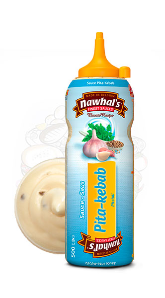 Sauce Nawhal's PitaKebab 500ml - Nawhals.com