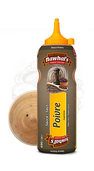 Sauce Nawhal's Poivre 500ml - Nawhals.com