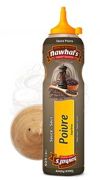 Sauce Nawhal's Poivre 950ml - Nawhals.com