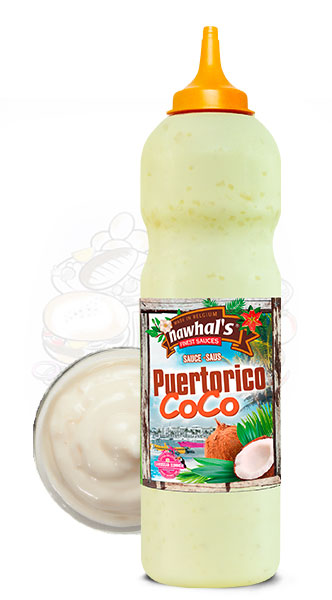 Sauce Nawhal's Puertoricoco 950ml - Nawhals.com