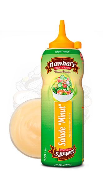 Sauce Nawhal's SaladMinut 500ml - Nawhals.com