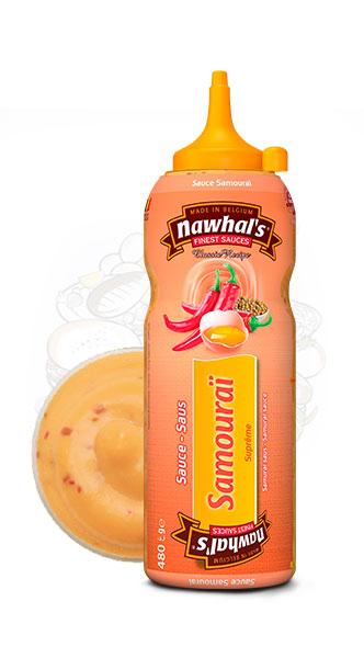 Sauce Nawhal's Samourai 500ml - Nawhals.com