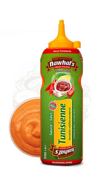 Sauce Nawhal's Tunisienne 500ml - Nawhals.com