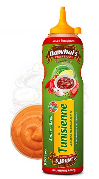 Sauce Nawhal's Tunisienne 950ml - Nawhals.com
