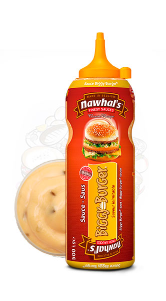 Sauce Nawhal's Biggy Burger 500ml - Nawhals.com
