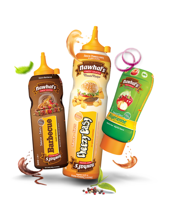 Nawhals Sauce barbecue sauce cheasy easy sauce algerienne - nawhals.com